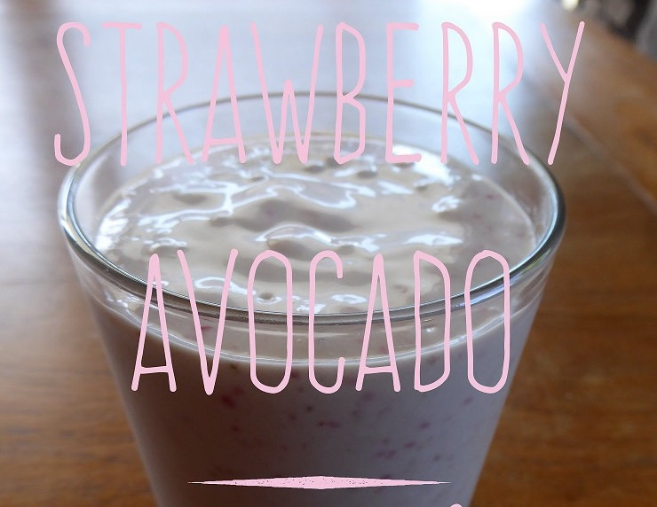 strawberry-avocado-smoothie